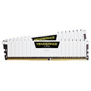 Corsair CMK16GX4M2A2666C16W Vengeance LPX Kit di Memoria RAM da 16 GB, DDR4, 2x8 GB, DDR4, 2666 MHz, CL16, Bianco