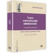 Legea contenciosului administrativ comentata si adnotata - Gabriela Bogasiu