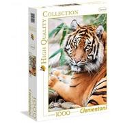 Clementoni 39295 - Sumatran Tiger Puzzle, Collezione Alta Qualità, 1000 Pezzi