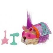 Hasbro Furry Frenzies Mascotas revoltosas musicales Dash McFlash - Animal de peluche con movimiento, sonido y música