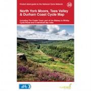 Fietskaart 33 Cyclecity North York Moors, Tees Valley & Durham Coast   Sustrans