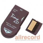 Цифровой мини диктофон Edic-mini Tiny xD B68 300h