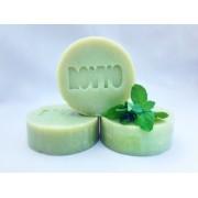 Sapun natural menta, avocado si oxid de zinc - 90 g