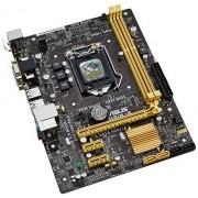 Asus Mod 1150 H81M-E (MATX/H81) Scheda Madre, Nero
