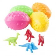 6 Dz Dinosaurs Eggs With Mini Toy Dinosaur Figures Inside 72 Per Order