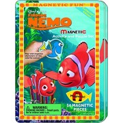 Disney's Finding Nemo Magnetic Fun Tin & Finding Nemo 2-in-1 Invisible Ink with Sticker Book Activity Set