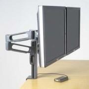 Kensington - Brazo doble SmartFit™ para monitor