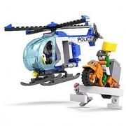 COGO 3910 lego blocks police helicopter action - 164pcs