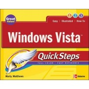 Windows Vista QuickSteps by Marty Matthews