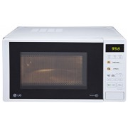 LG 20 L Grill Microwave Oven (MH2043DW, White)