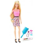 Barbie - Muñeca con mechas arcoíris (Mattel CFN48)