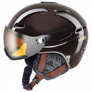 Uvex - Hlmt 200 WL - Skihelm Gr 55-58 cm schwarz/grau