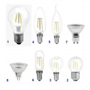 Müller Licht Filament LED Glühlampe - 6 Watt, E27, klar, warmweiß, 650lm