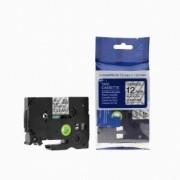 Brother TZ-FX131/TZe-FX131 12mm x 8m flexi černý tisk/čirý podklad kompatibilní
