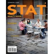STAT2 (with Review Cards and CourseMate Printed Access Card) by Robert Johnson