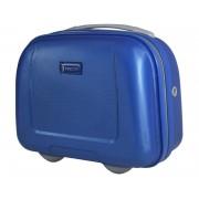 Kosmetyczka kuferek Puccini ABSQM017 w kolorze niebieskim