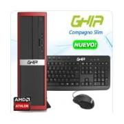 GHIA COMPAGNO SLIM / AMD ATHLON 5150 QUAD CORE 1.6 GHz / 4 GB / 500 GB / DVD+RW / SFF-R / ENDLESS OS