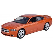 2011 Dodge Charger R/T Hemi Silver 1/24 by Motormax 73354