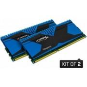 Kit Memorie HyperX Predator Blue 2x4GB DDR3 2666MHz CL11 Dual Channel