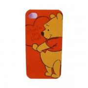 Funda Protector Mobo iPhone 4G/4S Pooh con Corazon