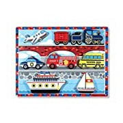 Vehicles Chunky Puzzle: Puzzles (Wooden) - Chunky Puzzles