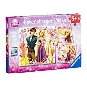 Ravensburger Disney Rapunzel 3x49 Piece Puzzles