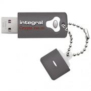 Stick USB Fusion Crypto 3.0 4GB Gri Integral