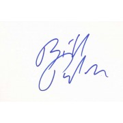 Bill Pullman Autographed Index Card