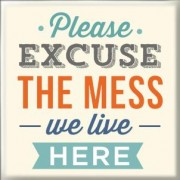 Magneet: please excuse the mess we live here