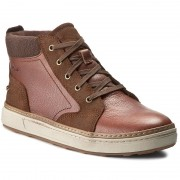 Обувки CLARKS - Lorsen Mid 261192777 Tan Leather
