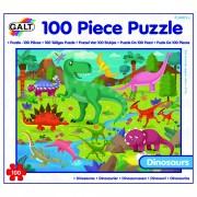 PUZZLE - TARAMUL DINOZAURILOR (100 PIESE) (1004717)