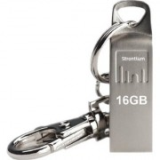 Strontium Ammo SR16GSLAMMO 16 GB Pen Drive (Silver)