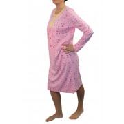 Hannah dámská noční košile M světle růžová