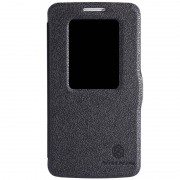 Nillkin Fresh Series S-View fodral till LG G2 Mini (Svart)