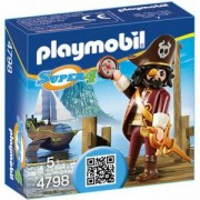 Комплект Плеймобил 4798 - Пират с брада - Playmobil, 291239