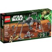 LEGO Star Wars Homing Spider Droid 295pieza(s) - juegos de construcción (Niño/niña, Multicolor)
