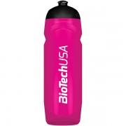 Športová fľaša cyklámenová priesvitná BioTech USA 750ml