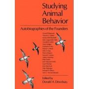 Studying Animal Behaviour by Donald A. Dewsbury