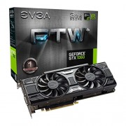 EVGA 4004 03 G-P4 - 6367 KR GeForce GTX 1060 FTW + per Gaming ACX 3.0 3 GB GDDR5 VR Ready scheda video Nero