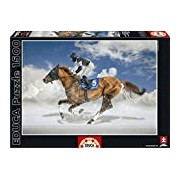 Educa 16307 Jigsaw Puzzle 1500 Pieces - White Turf, Ascot Finale in St. Moritz