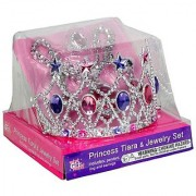Princess Expressions Tiara and Jewelry Set with different Styles