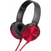 Casti Sony MDR-XB450 APR Red