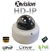 Bezpečnostná IP HD CCTV kamera s 20m nočným videním + ŠPZ