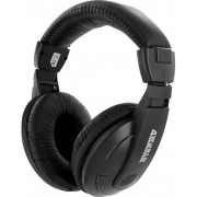 Casti 4World 04164, Stereo, 3m (Negre)