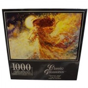Classic Treasures 1000-Piece Large Jigsaw Puzzle - Christmas Angel