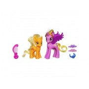 My little pony - poney et princesse - crystal princess cadance applejack