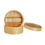 Comprar vaporera de bambú de 2 pisos | Cuece vapor