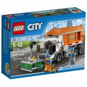 Конструктор ЛЕГО СИТИ-БОКЛУКЧИЙСКИ КАМИОН, LEGO City - Garbage Truck, 60118