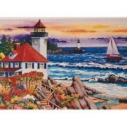 Sunset Light 750 Piece Puzzle