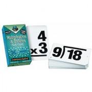 Learning Advantage Ctu8661 Double Value Vertical Flash Cards Multiplication Division